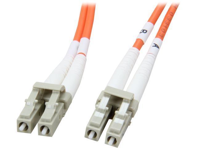 Coboc CY-OM2-LC/LC-2 6.56 ft. Orange Multimode 50/125 Duplex LSZH Fiber Patch Cable LC - LC, M-M