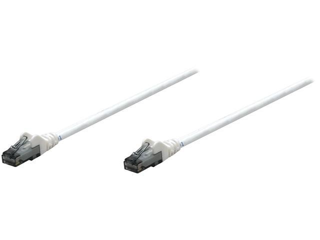 Intellinet 341998 25 ft Cat 6 White Network Ethernet Cables