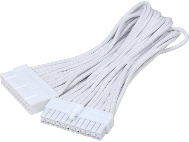 """BitFenix BFA-MSC-24ATX45WW-RP 11.81"""" (30cm) ATX 24-pin Extension Cable M-F"""