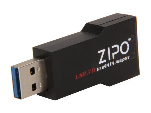 Mukii ZIO-Q050U3-BK USB3.0 to eSATA Dongle -Black