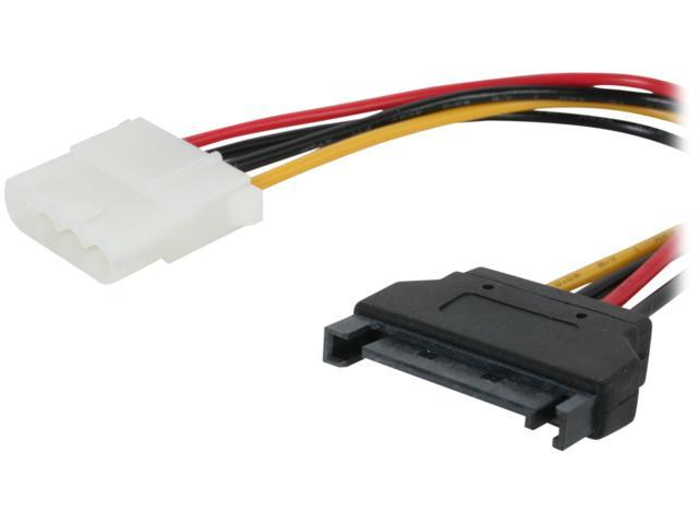 "Linkworld 7"" 7"" convertor from POWER 4 PIN-IDE Female to 15 PIN-SATA Male"