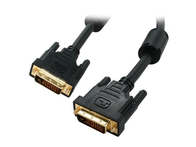 Kaybles Model DVI-DD-10FT Black 10 ft. M-M Premium DVI Digital Dual-Link with Ferrites M/M 10 feet - OEM