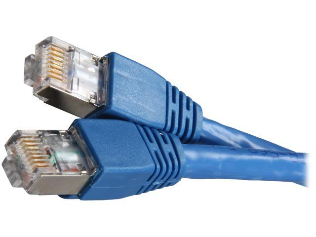 Kaybles 50ft CAT6A-50S 50 ft. Cat 6A Blue Color Shielded Stranded STP Network Cable Blue Color 50 feet - OEM