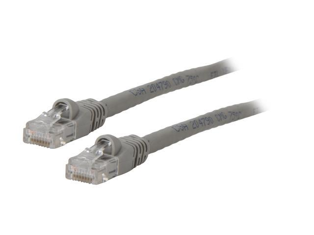 Kaybles 14ft CAT6 UTP 14 ft Injection Molded Boot Patch Cables in Gray Color 14 feet - OEM