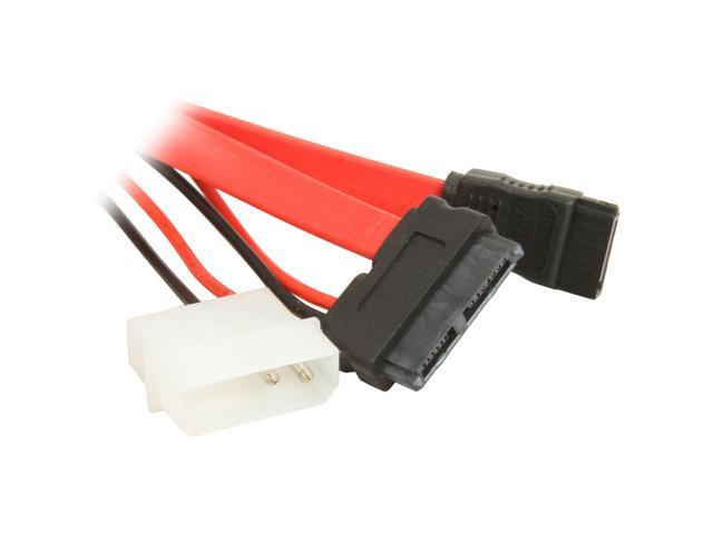 1ST PC CORP. CB-SATA-SD67 Slimline SATA Cable with 24