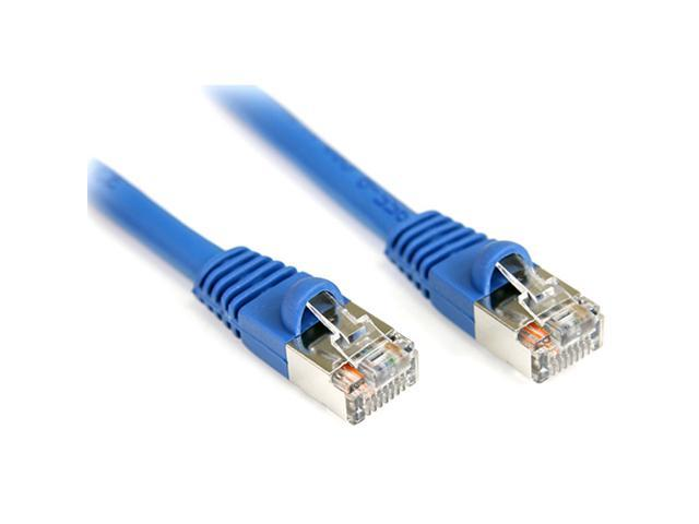 StarTech.com 10 ft Cat5e Blue Snagless Shielded RJ45 F/UTP Cat 5e Patch Cable - 10ft Patch Cord