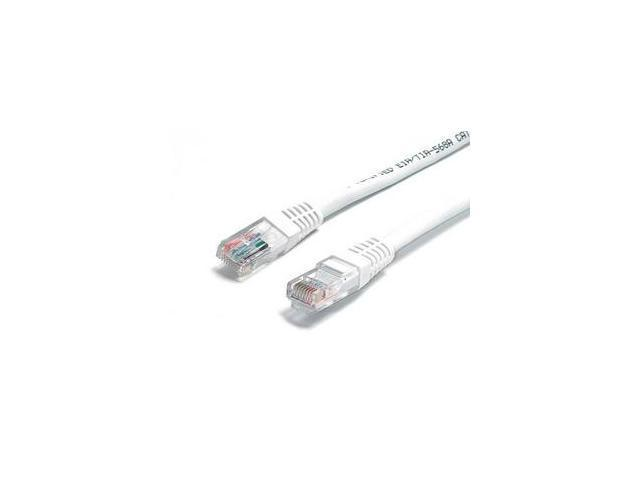 StarTech.com 2 ft White Molded Cat6 UTP Patch Cable - ETL Verified