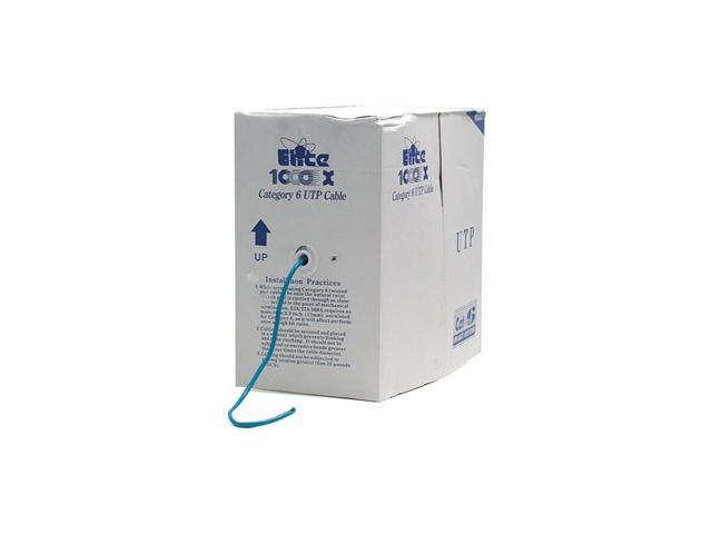 StarTech.com 1000 ft Roll of Blue CMR Cat 6 Solid UTP Bulk Cable