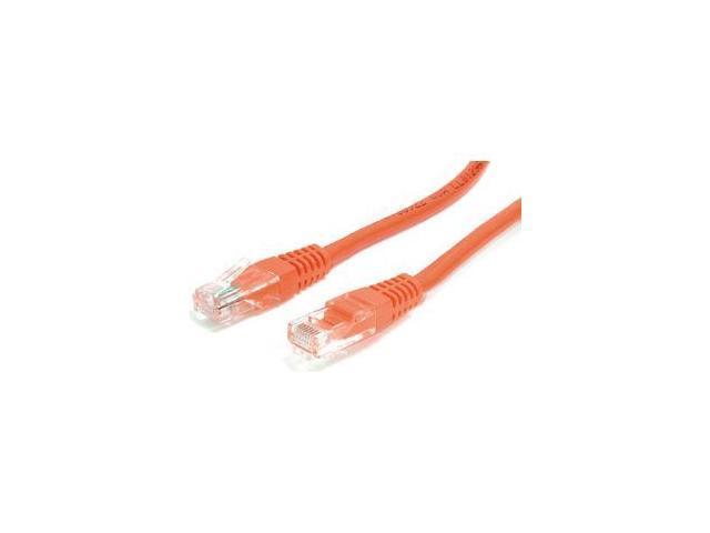 StarTech.com 3 ft Orange Molded Cat5e UTP Patch Cable