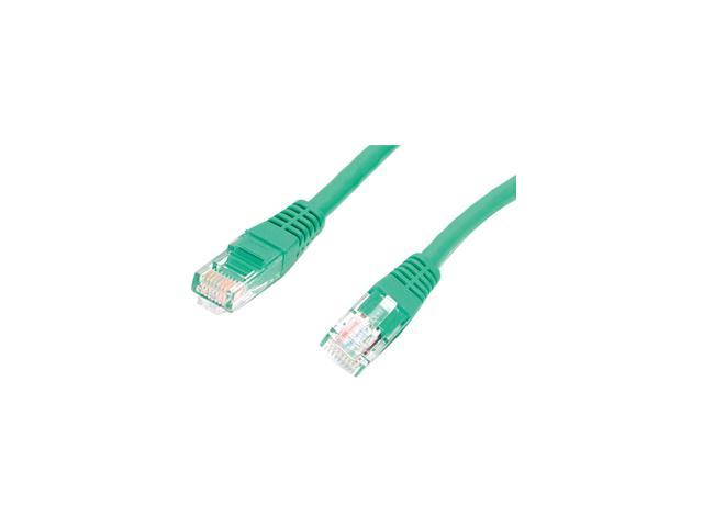 StarTech.com 10 ft Green Molded Cat5e UTP Patch Cable