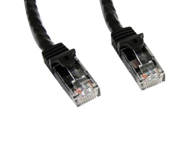 StarTech.com 100 ft Black Snagless Cat6 UTP Patch Cable