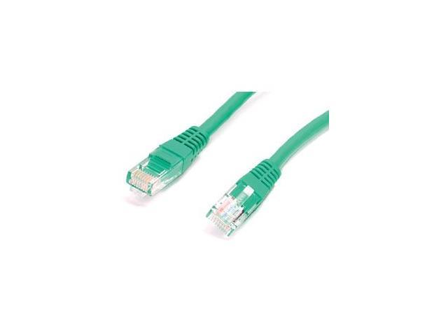 StarTech.com 50 ft Green Molded Cat5e UTP Patch Cable