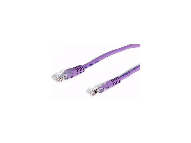 StarTech.com 50 ft Purple Molded Cat5e UTP Patch Cable