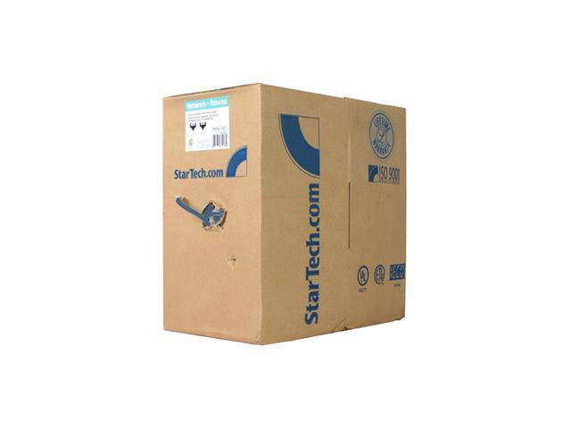 StarTech.com 1000 ft Bulk Roll of Blue Cat5e Stranded UTP Patch Cable