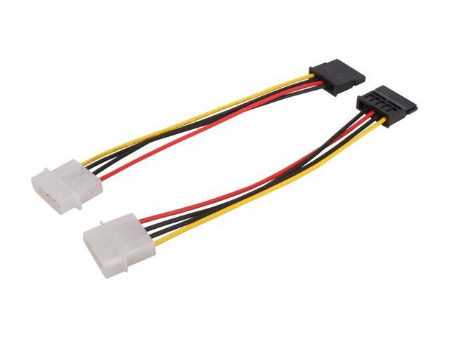 "IMC i-adapter-2 in 1 6"" sata (serial ATA power adapter) Serial ATA (15-pin) to 4-pin to Power"