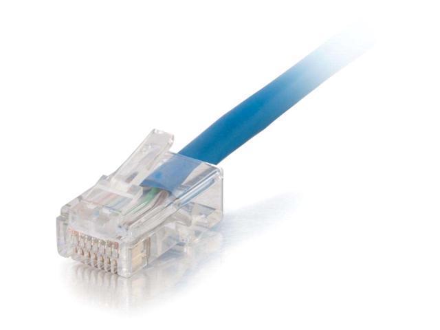C2G 15242 10 ft Cat 5E Blue Network Ethernet Cables