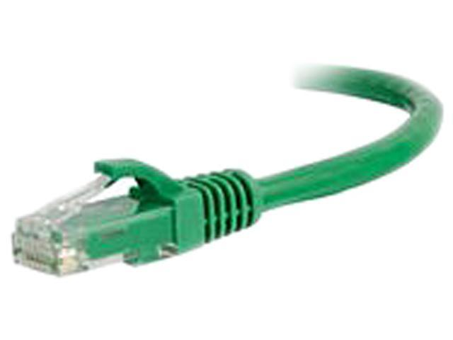 C2G 00418 30 ft. Cat 5E Green 350 MHz Snagless Patch Cable