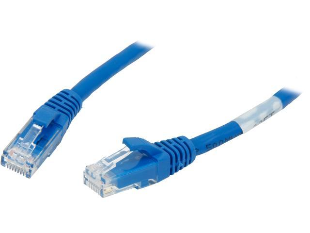 C2G 03980 30 ft. Cat 6 Blue Snagless Patch Cable