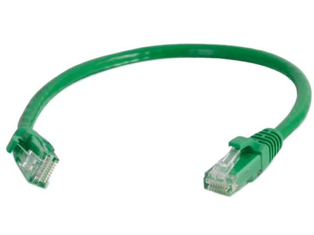 C2G 03991 6 ft. Cat 6 Green Snagless Patch Cable