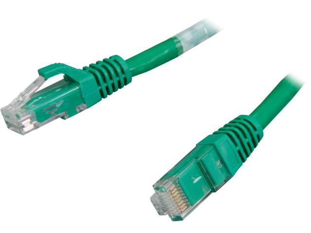C2G 03997 30 ft. Cat 6 Green Snagless Patch Cable