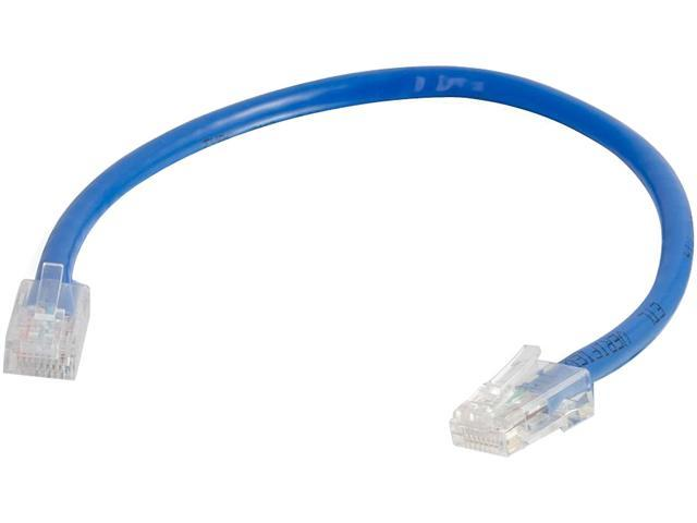 C2G 04094 10 ft. Cat 6 Blue Non-Booted Patch Cable