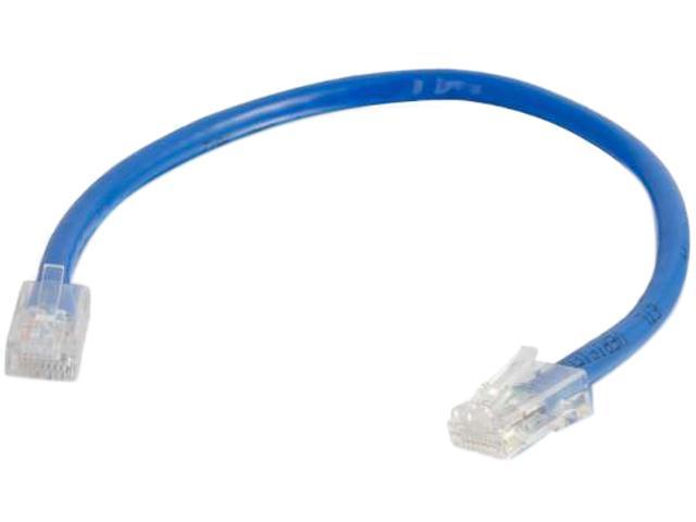 C2G 04096 14 ft. Cat 6 Blue Non-Booted Patch Cable