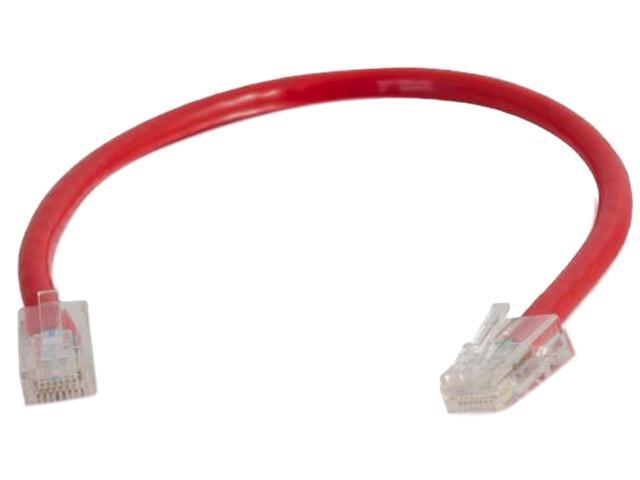 C2G 04162 25 ft. Cat 6 Red Non-Booted Patch Cable