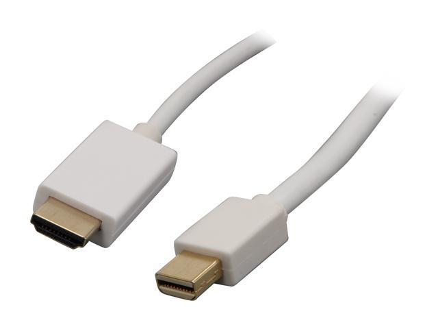 Nippon Labs Model MINIDP-HDMI-15 15 ft. Mini DisplayPort to HDMI® 32 AWG 15ft Cable M-M 15 feet- OEM
