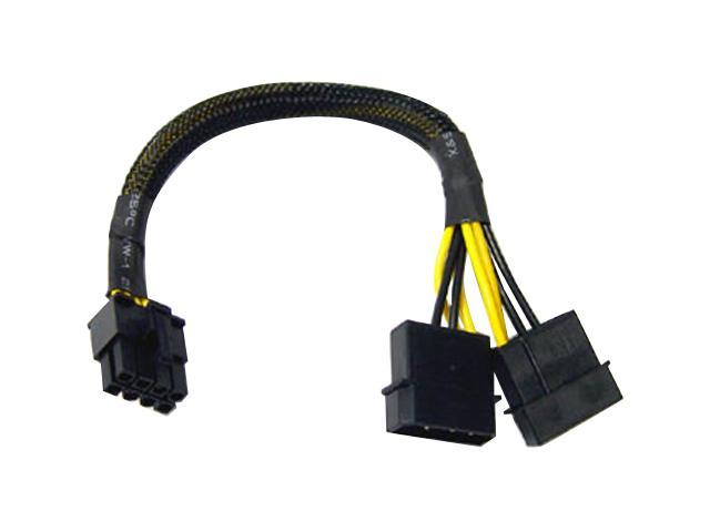 "LOGISYS AD202 9.5"" 12V Molex to 8pin P8 Motherboard Adapter"