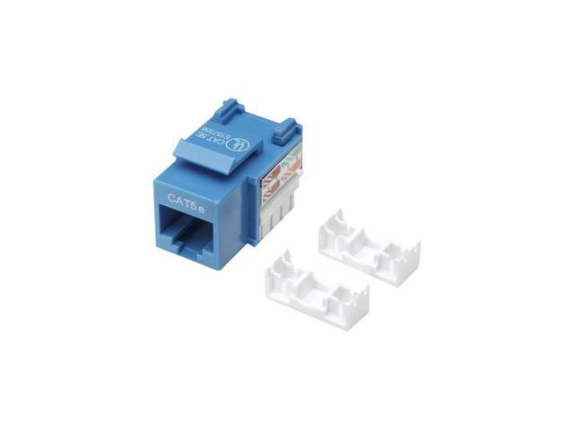 Intellinet 210546 Cat.5e UTP Keystone Jack - Blue