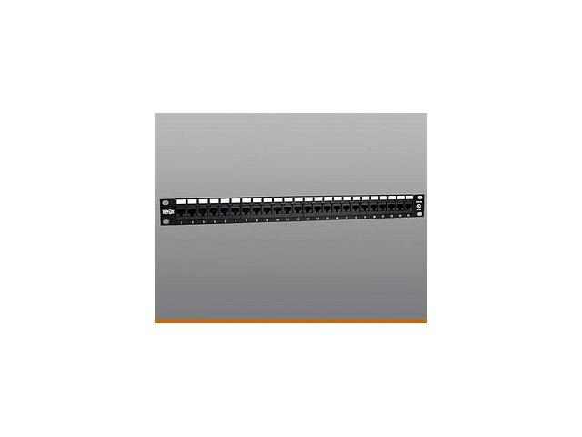 TRIPP LITE N052-024 24-Port Cat5e Patch Panel 568B