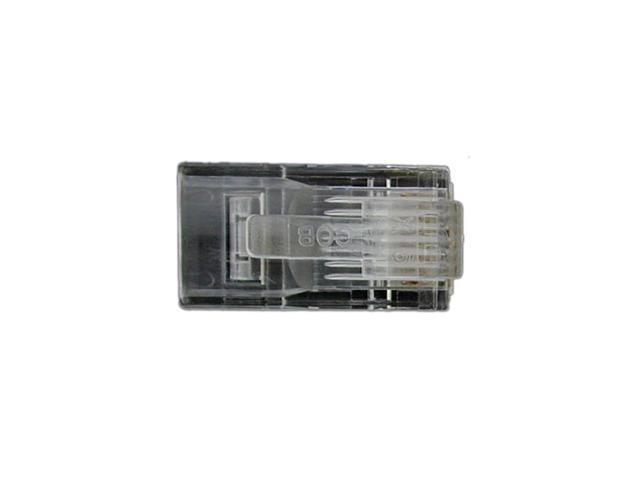 StarTech.com Cat 5e RJ45 Solid Modular Plug Connector - 50 Pack