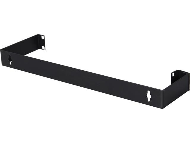 StarTech WALLMOUNTH1 1U 19in Hinged Wall Mounting Bracket for Patch Panels