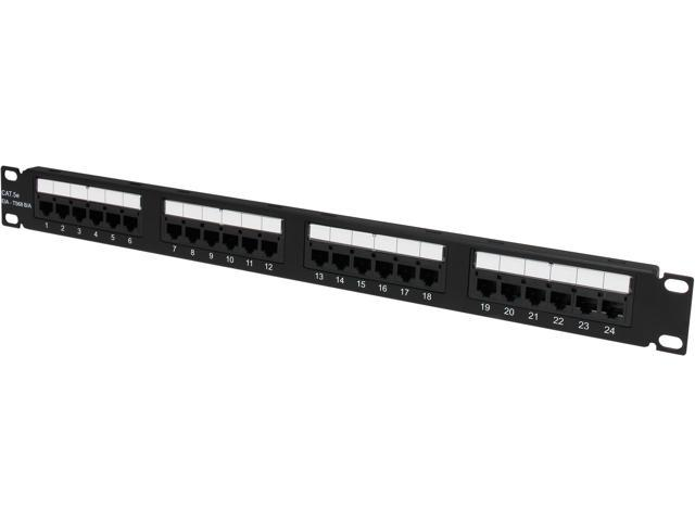 C2G 03852 24-Port Cat5E 110-Type Patch Panel