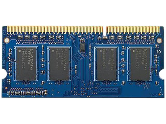 Hewlett-Packard 8GB 204-Pin DDR3 SO-DIMM Memory (Notebook Memory) Model H6Y77AA#ABA