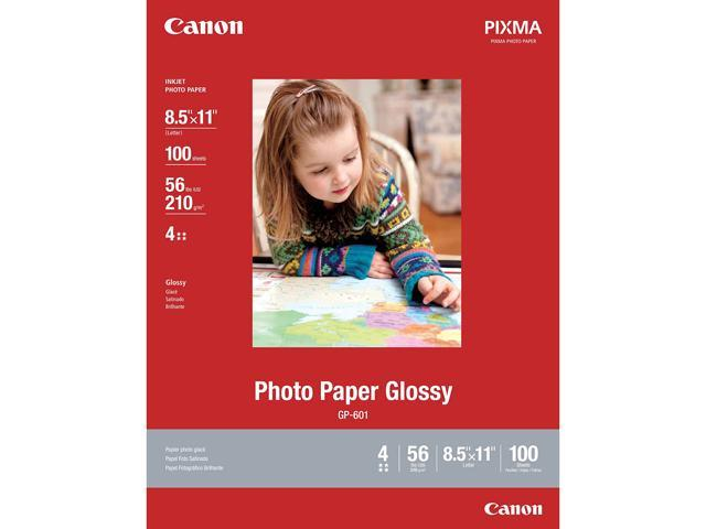 PHOTO PAPER GLOSSY 8.5INCH X 11INCH, 100 SHEETS