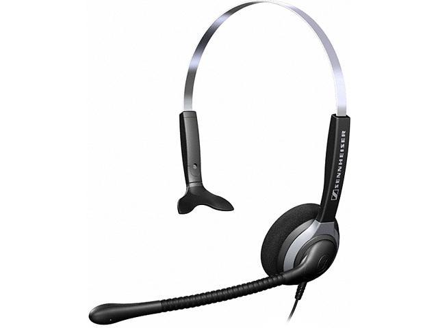 Over-the-Head SH230 Single-Sided Headset with Omni-Directional Microphone - Black