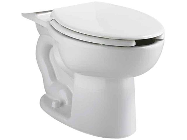 American Standard 3481.001 Cadet Vitreous China Floor Mount Pressure Assisted Siphon Action Toilet Bowl Only, White
