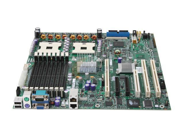 Intel SE7520BD2SATAD2 SSI EEB 3.0 Server Motherboard Dual 603/604 Intel E7520 DDR2 400