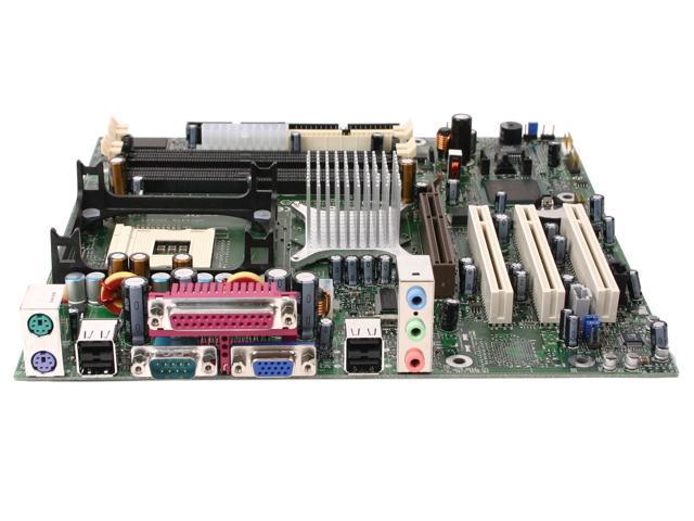 Intel BOXD865GLC 478 Intel 865G Micro ATX Intel Motherboard