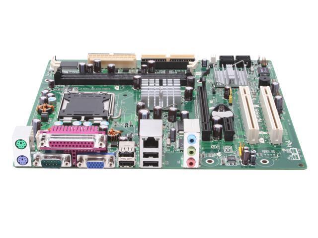 Intel BLKD101GGCL LGA 775 ATI Radeon Xpress 200 Micro ATX Intel Motherboard