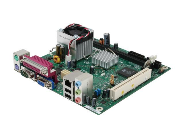 Intel BLKD201GLYL Intel Celeron 215 with a 533 MHz system bus SiS 662 Mini ITX Motherboard/CPU Combo