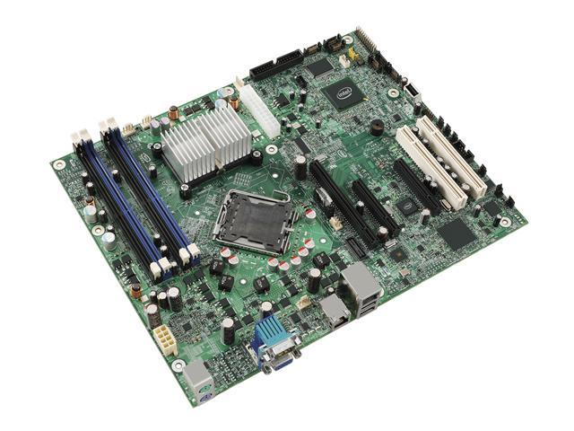 Intel S3200SHV Server Motherboard LGA 775 Intel 3200 DDR2 800