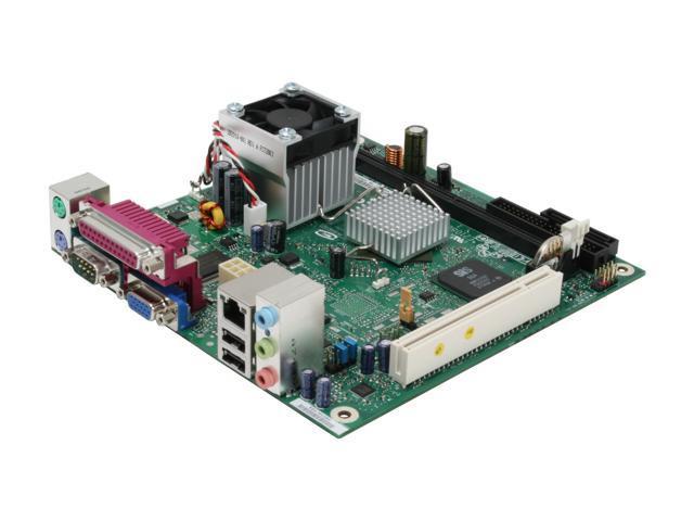 Intel BLKD201GLY2A Intel Celeron 220 SiS 662 uATX Motherboard/CPU Combo