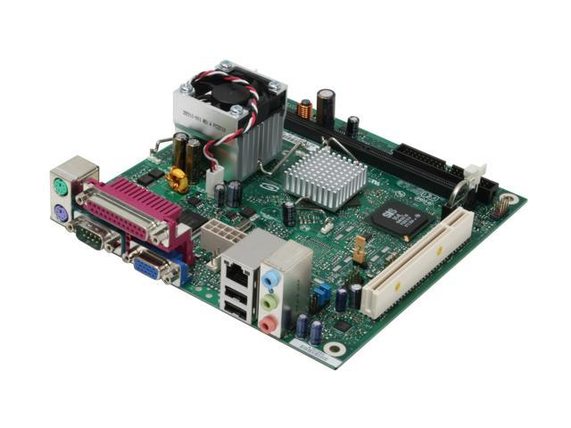 Intel BOXD201GLYL Intel Celeron 215 SiS 662 Micro ATX Motherboard/CPU Combo