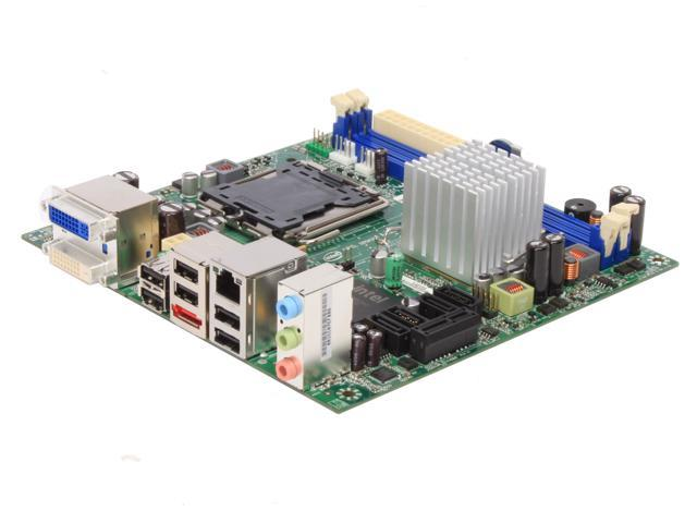 Intel BOXDQ45EK LGA 775 Intel Q45 Mini ITX Intel Motherboard