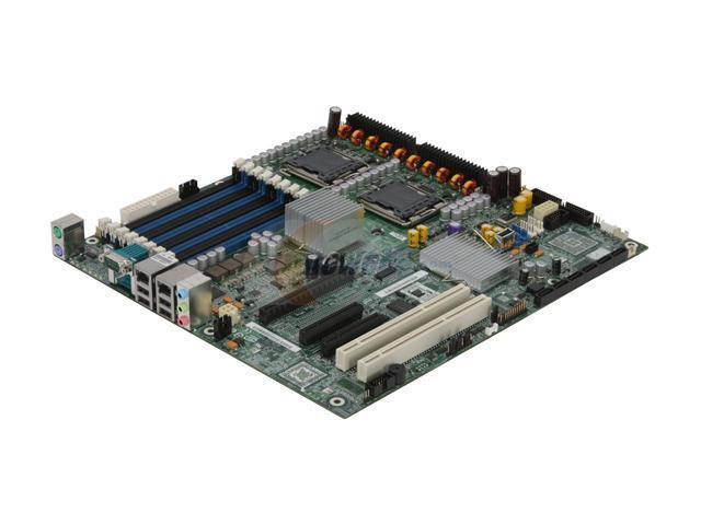 Intel S5000XVNSATAR Extended ATX Server Motherboard Dual LGA 771 Intel 5000X