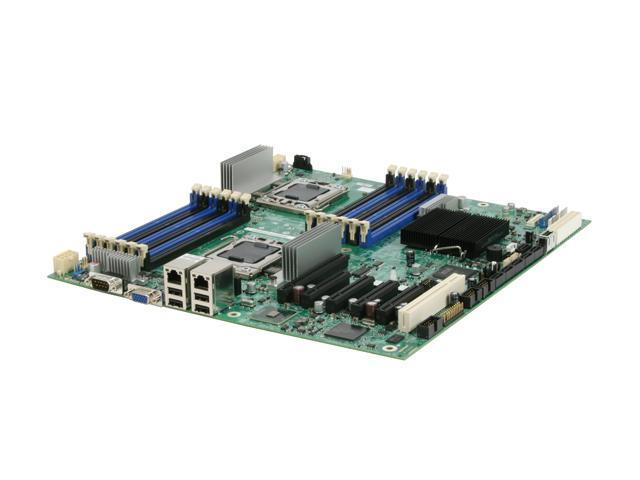 Intel S5520HC Dual LGA 1366 Intel 5520 Tylersburg SSI EEB Dual Intel Xeon 5500 Series Server Motherboard