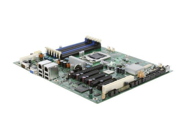 Intel S3420GPLX ATX Server Motherboard LGA 1156 Intel 3420 chipset with IDT PCI Express 2.0 switch DDR3 1333