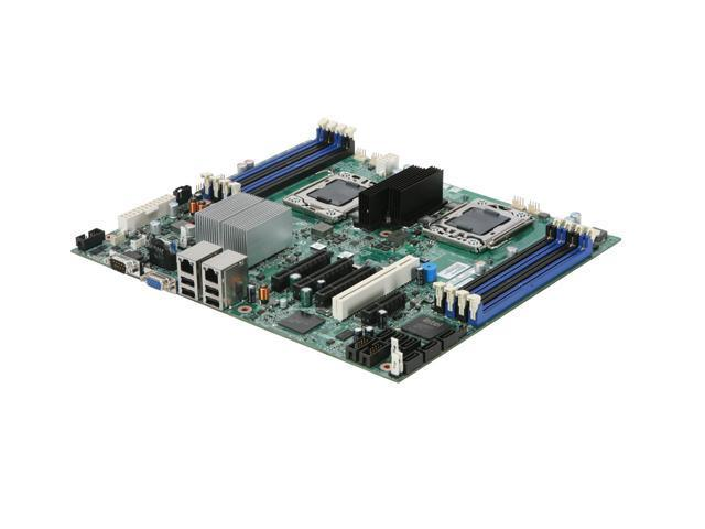 Intel S5500BCR SSI CEB-leveraged Server Motherboard Dual LGA 1366 Intel 5500 DDR3 1333